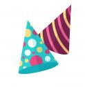 Czapeczki urodzinowe